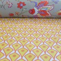 Nappe enduite, Déco jaune orange