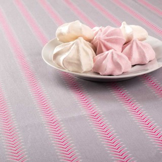 Nappe enduite Design gris rose