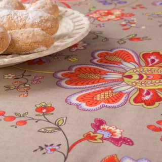 Nappe de table grande largeur Ombelle multicolore